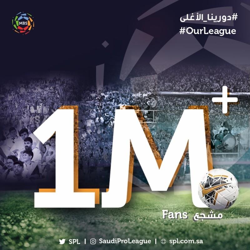 1 million fans post