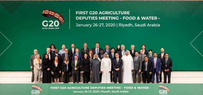 During the two-day meeting, agriculture and water deputies from the G20 members, invited guest countries and representatives from international organizations addressed the main challenges to food security and water management. — Courtesy photo