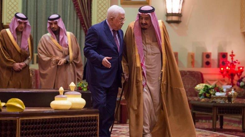 Saudi Arabia supports Palestinian choices, King Salman tells Abbas