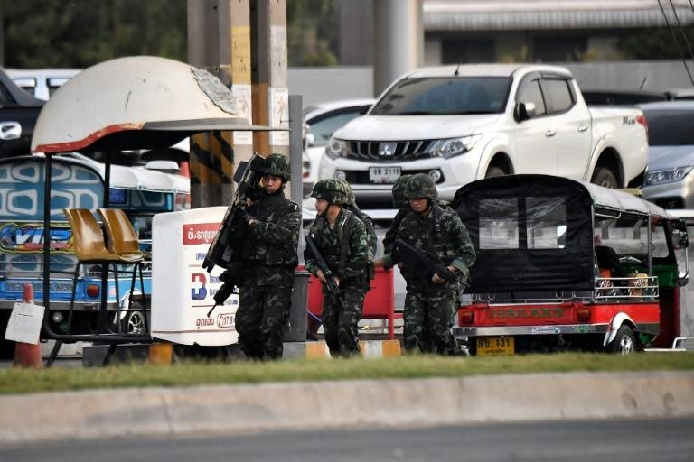 Twenty-six people including civilians — the youngest a 13-year-old boy — and security forces were killed by the rogue soldier, said Thailand's Prime Minister Prayut Chan-O-Cha. — Courtesy photo