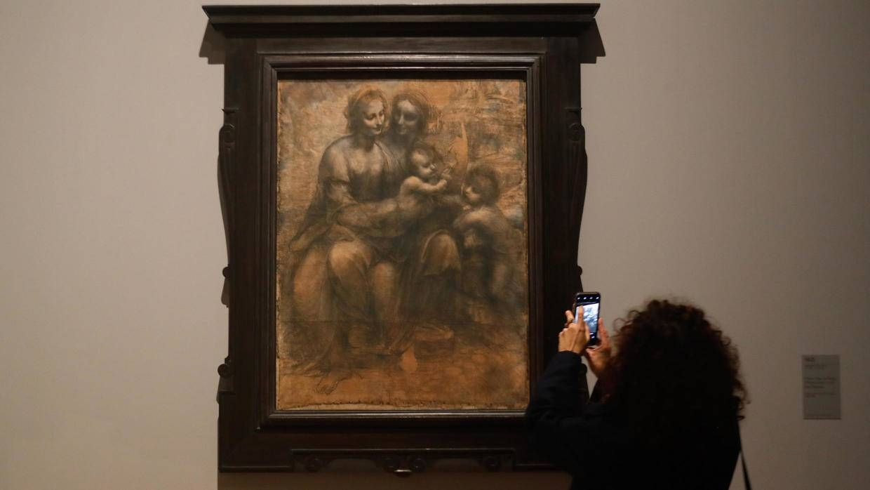 The exhibition, which opened in late October, marks 500 years since the death of Leonardo in the historic town of Amboise in the Loire Valley on May 2, 1519. — AFP