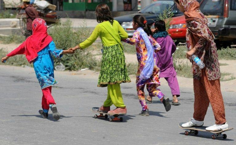 A film about international charity Skateistan's bid to teach young Afghan girls how to skateboard in Kabul won best documentary short at the Academy Awards. — AFP