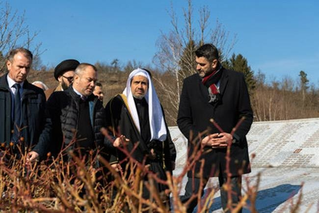 The Secretary General of the Muslim World League (MWL) paid tribute to the victims of the Srebrenica genocide on Sunday, building on his recent trip to Auschwitz to raise awareness about threats to minorities around the world.