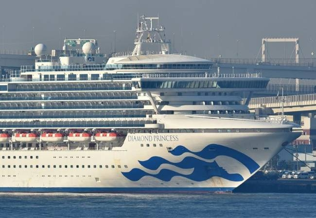 The biggest cluster of cases outside China is on a cruise ship quarantined off Japan's coast, where 44 more people tested positive for COVID-19, raising the total number of infections on the Diamond Princess to 218. — AFP