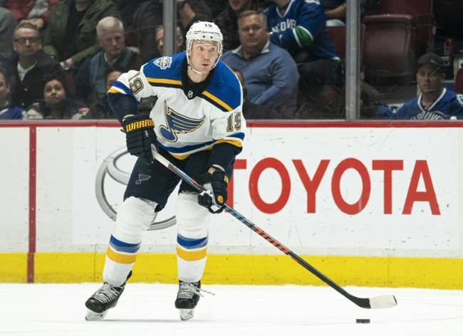 Ducks game postponed after Blues' Jay Bouwmeester collapses on bench