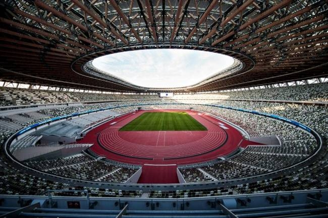 The National Stadium will be the main venue for the Tokyo Olympic Games. — AFP