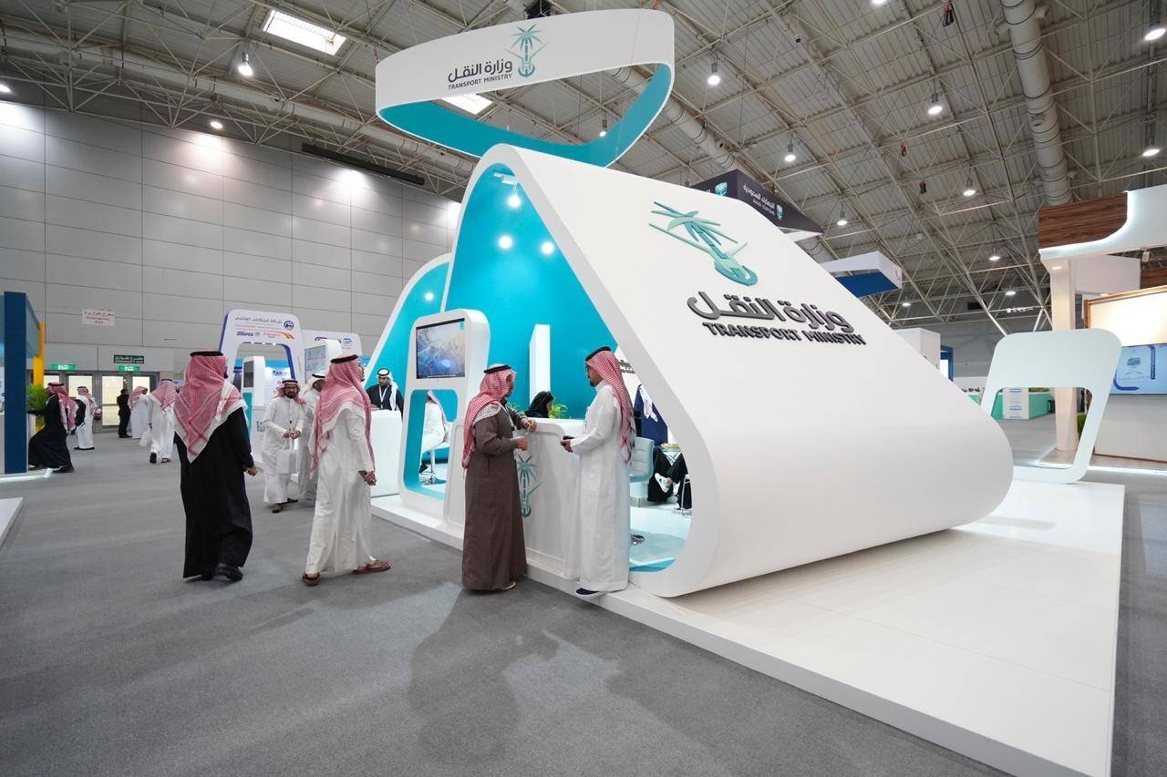 The Saudi Exhibition and Conference for Transport and Logistics held in the Riyadh International Convention and Exhibition Center recently.