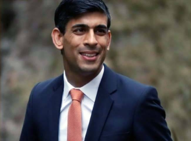 The UK's new finance minster Rishi Sunak following his appointment by Prime Minister Boris Johnson on Thursday. — AFP