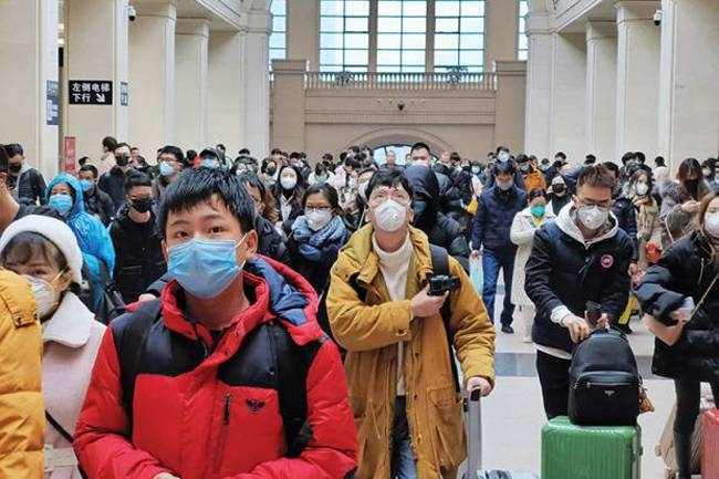Chinese students studying in global universities have been stuck since the ban on travel started following the coronavirus epidemic.