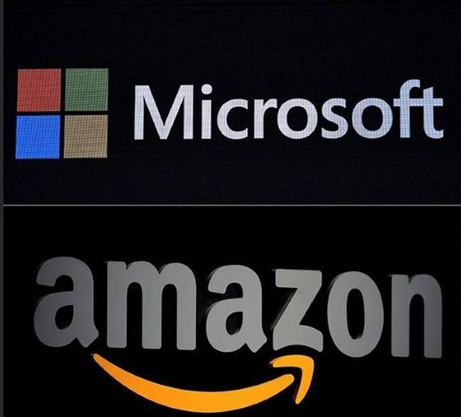 Amazon wins suspension of $10bn 'JEDI' contract to Microsoft