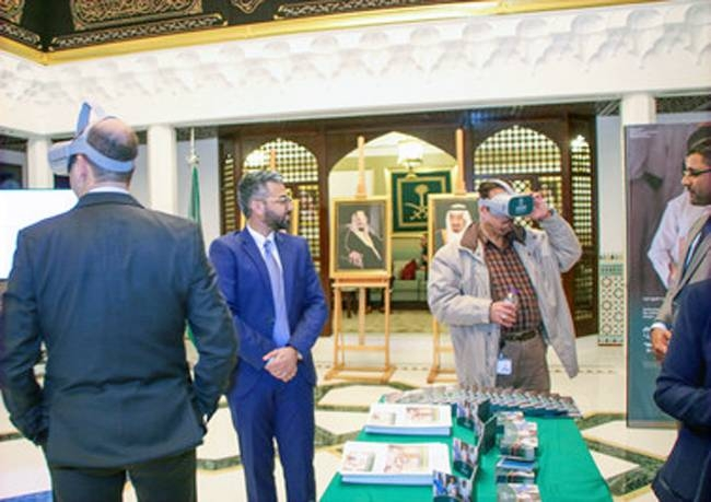Ambassador Mohammed Bin Saeed Al Jaber and Col. Turki Al-Maliki host a joint meeting to discuss Yemen and SDRPY projects there.