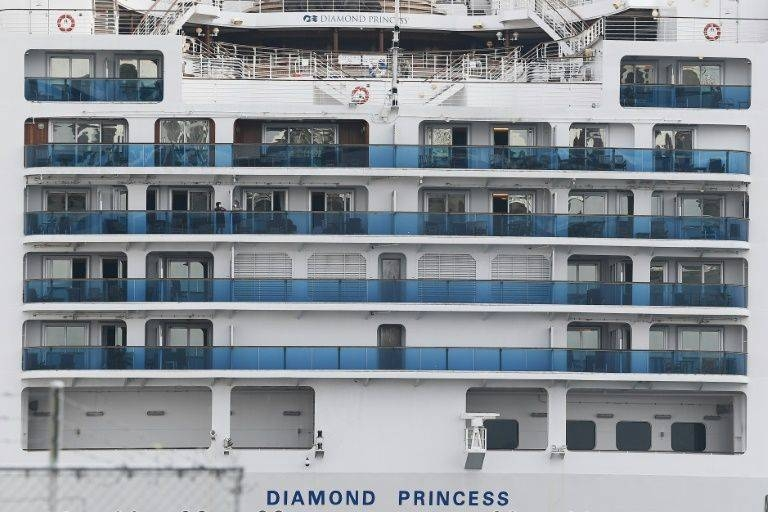 Japan announces tourists' landing from the Diamond Princess