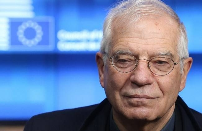 European Union foreign policy chief Josep Borrell arrives at the European Council in Brussels, Monday. — Courtesy photo