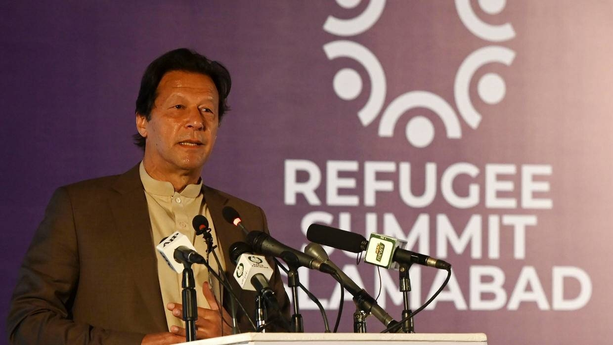 Khan was addressing a conference marking 40 years of hosting Afghan refugees in his country.
