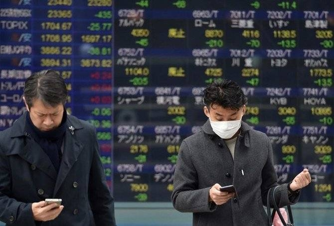 The nation's gross domestic product in the three months to December shrank 1.6 percent from the previous quarter, even before the novel coronavirus outbreak in China hit Japan, according to official data published on Monday. — AFP