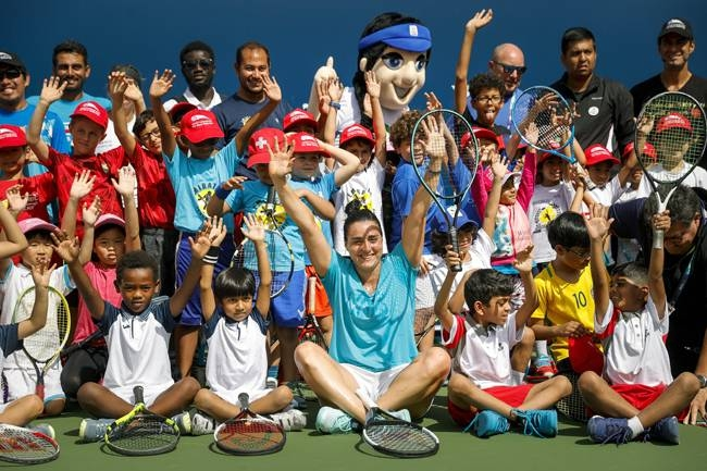 Tennis Emirates hosted over 50 young tennis players from affiliated tennis academies across the UAE during their coaching clinic attended by Arab rising star Ons Jabeur.
