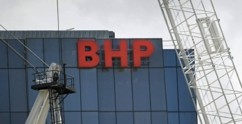 BHP has warned that demand for its products will likely dip as a result of the novel coronavirus outbreak. — AFP
