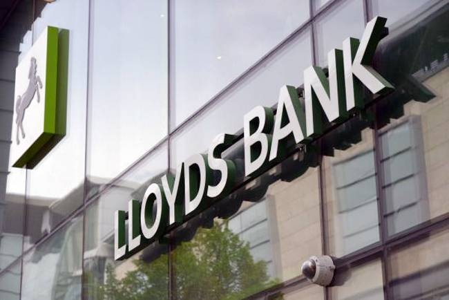 Britain's Lloyds Banking Group on Thursday posted a 38-percent slump in 2019 net profits, after taking a