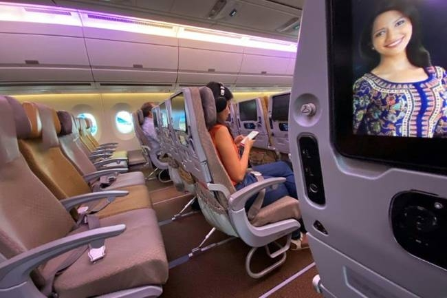 Empty seats, a huge cost for airlines. — AFP