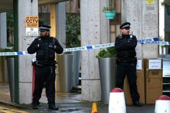 British police on Thursday said they were not treating as terror related a London mosque stabbing in which an elderly worshiper suffered non life-threatening injuries. — AFP