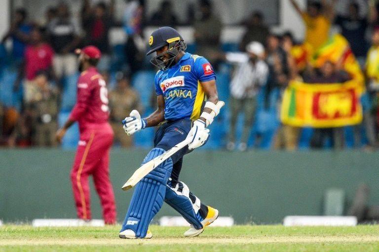 Wanindu Hasaranga, known for his leg-spin bowling, hit an unbeaten 42. — AFP