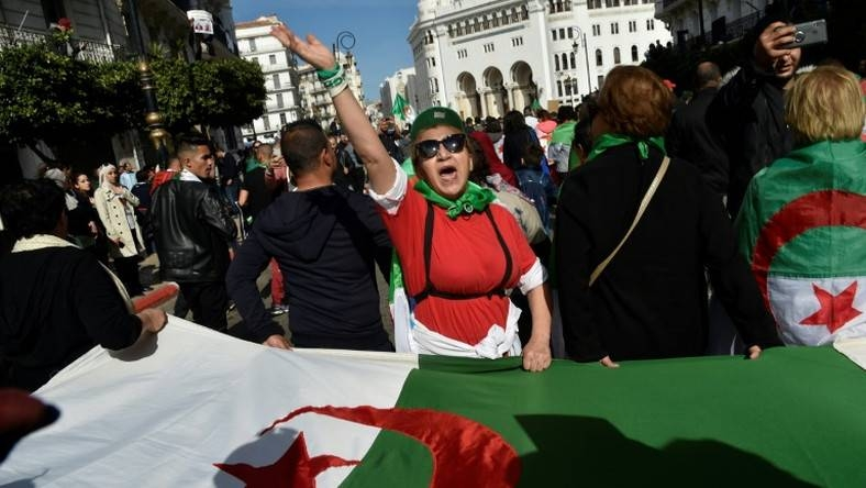 Algerians flood the streets of Algiers and numerous other cities across the country. — Courtesy photo