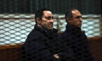 The two sons of Egypt's former President Hosni Mubarak, Alaa and Gamal — Courtesy Photo