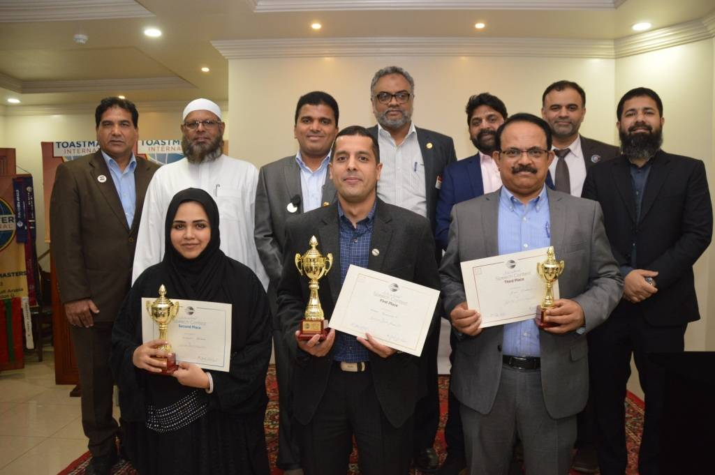 Winners of the International speech competition