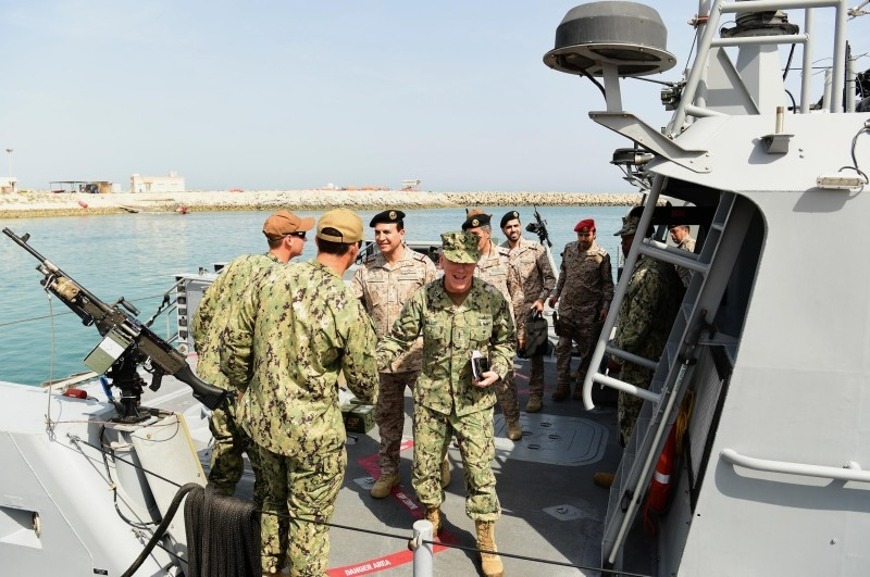 Joint Saudi–US naval drills begin