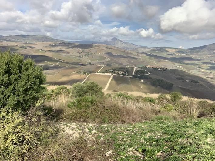 Sicilian countryside.