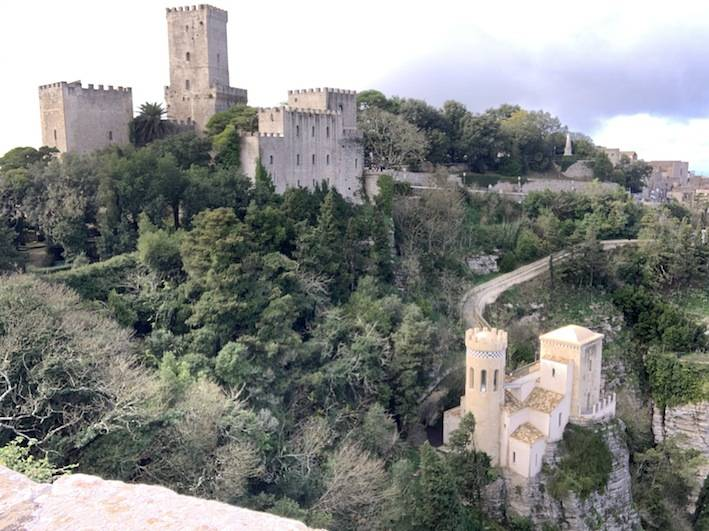 The castles of Erice.