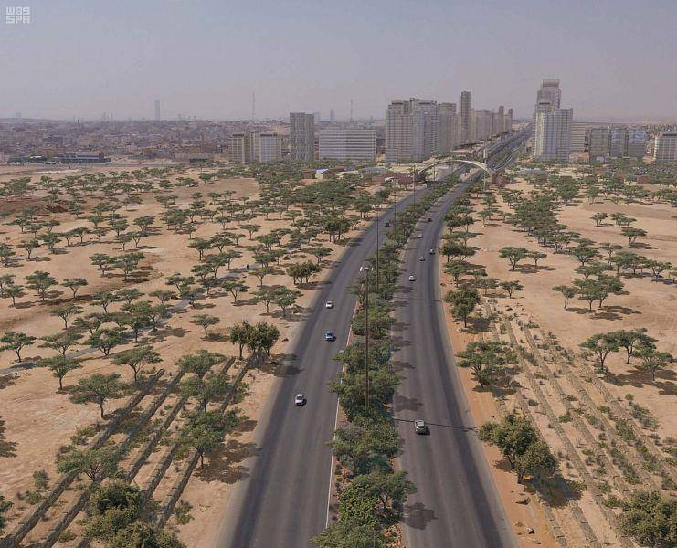 The Riyadh Green Program includes the establishment of 48 major parks in the capital. — SPA photos