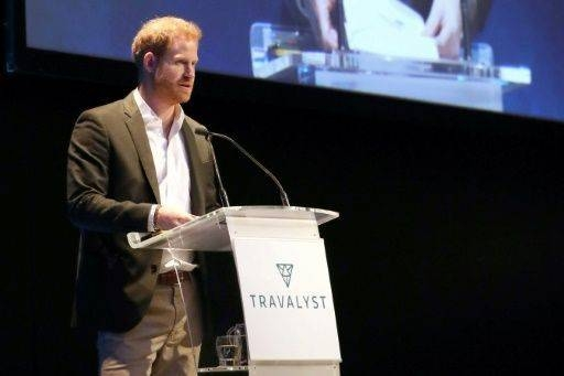 Harry used his remarks in Edinburgh to warn of the risks of huge increases in tourists at key locations. — AFP