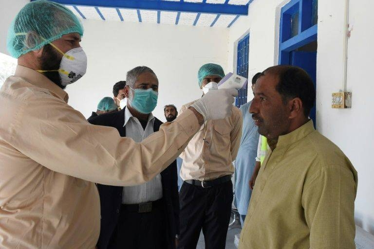 There are growing fears in Pakistan — sandwiched between China and Iran — over how the country would deal with the outbreak. — AFP