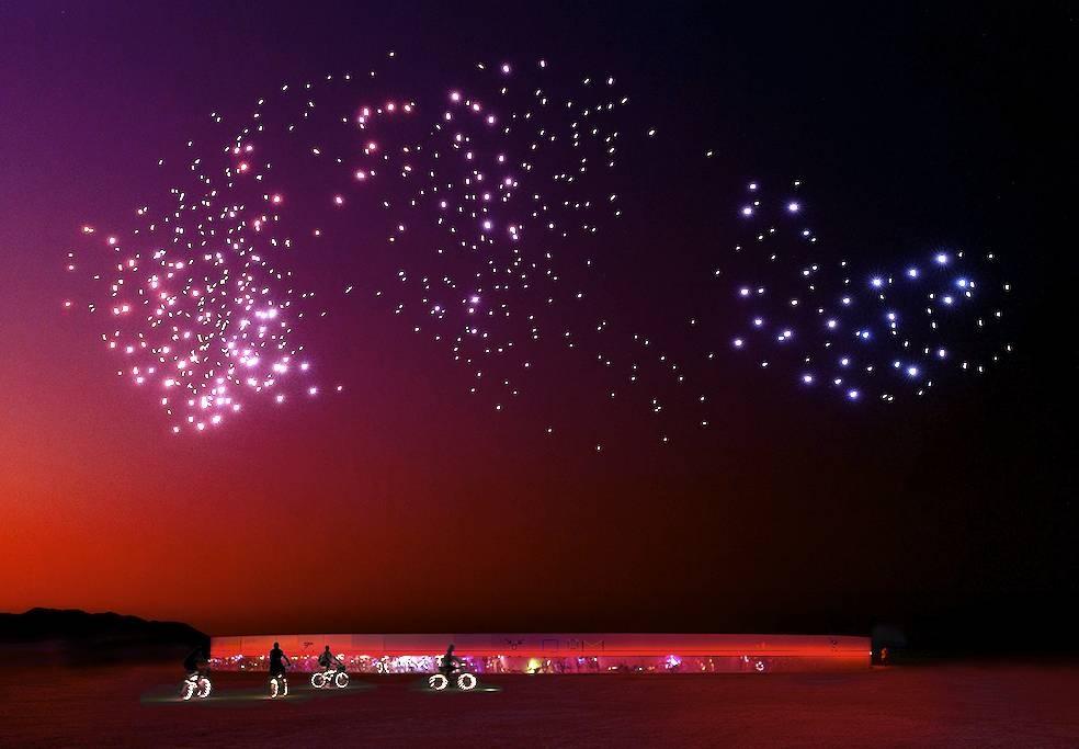Franchise Freedom Burning Man credits Rahi Rezvani 2018.