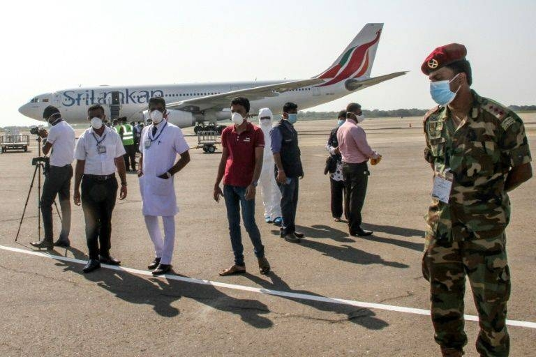 Sri Lanka's Mattala Rajapaksa airport has been abandoned by scheduled carriers. — AFP