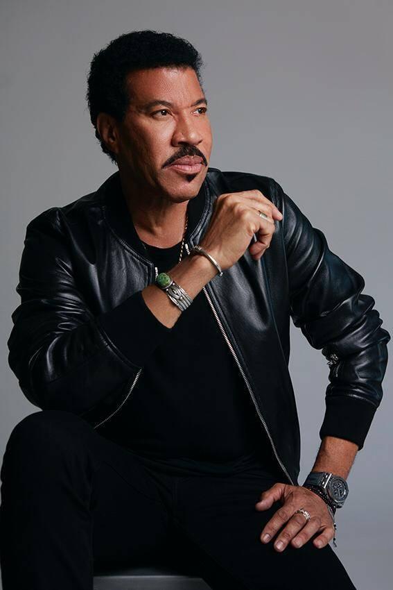 American musician Lionel Richie