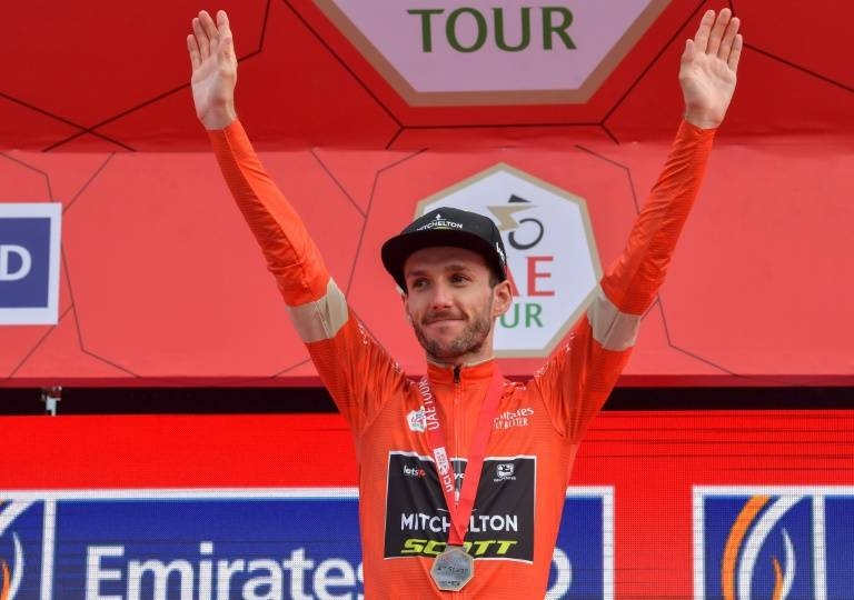 Britain's Adam Yates of team Mitchelton–Scott was declared winner of the UAE Tour after the final two stages were abandoned due to the coronavirus. — AFP
