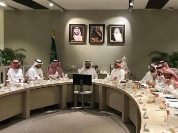 Minister of Health Dr. Tawfiq Al-Rabiah chairs a follow-up meeting on coronavirus. — SPA