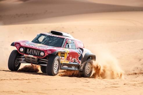 Stephane Peterhansel took part in last year's Riyadh Baja