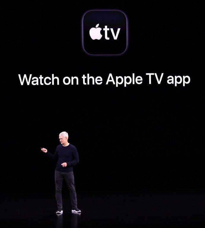 People may turn to streaming services like Apple TV  avoid avoid movie theaters if the coronavirus epidemic worsens. — AFP