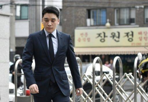 Seungri has been indicted on accusations including prostitution arrangement, embezzlement and illicit gambling. — AFP
