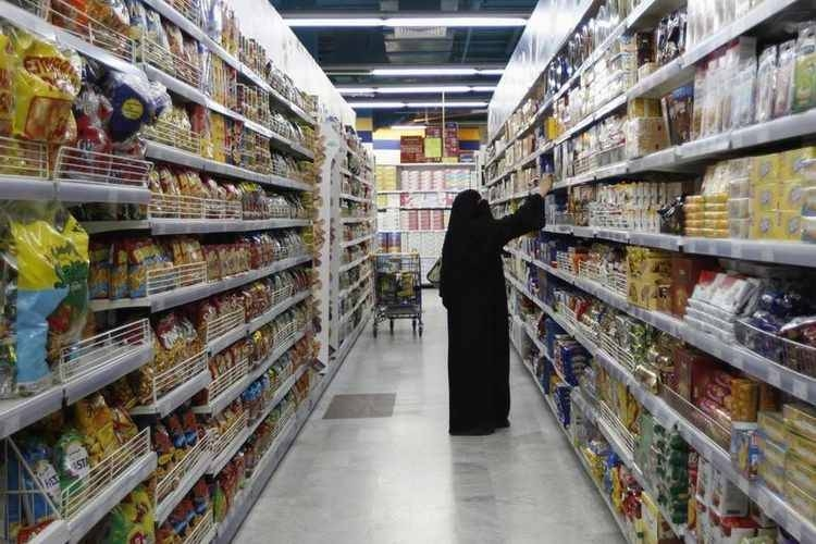 The ministry's monitoring teams have carried out field tours to verify the availability of food products and supplies in Qatif governorate. — Courtesy photo
