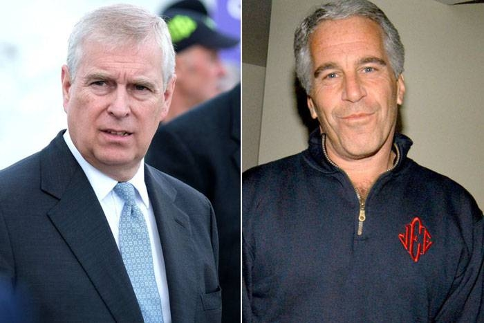 Britain's Prince Andrew, left, and US financier and convicted sex offender Jeffrey Epstein are seen in this file combination picture. — Courtesy photo