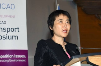 ICAO Secretary General Dr. Fang Liu seen in this file photo.