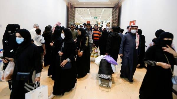 Locals wear face masks to take precautions from coronavirus, as they shop at the Bahrain's Autumn Fair 2020, in Manama, in this Jan. 29, 2020 file picture. — Courtesy photo