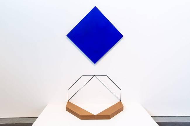 Installation view of Jameel Prize 5 Mehdi Moutashar at Jameel Arts Centre, Dubai.