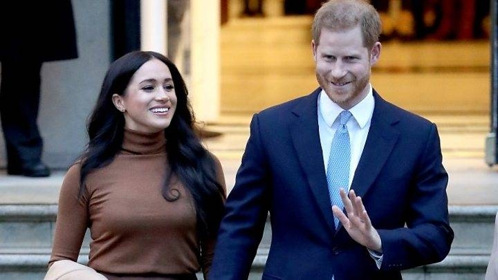 Prince Harry and his wife Meghan are seen in this file picture. — Courtesy photo