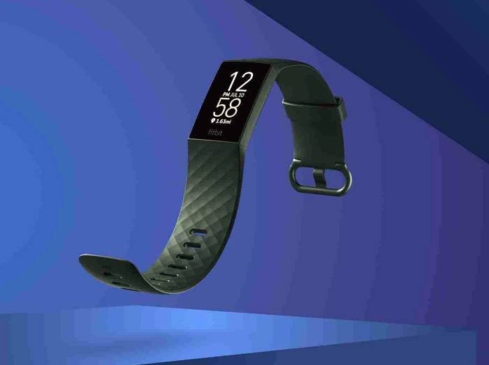 Product photography for Fitbit Charge 4.