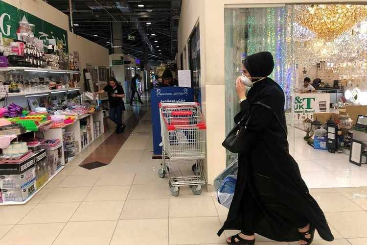 A woman wears a protective face mask, following the outbreak of the new coronavirus, as she walks at Dragon Mart, a Chinese themed discount shopping centre, in Dubai, in this file picture. — Courtesy photo